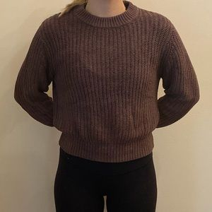 Wilfred Brown Knit Sweater XXS